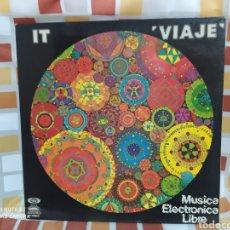 Discos de vinilo: IT -VIAJE, MÚSICA ELÉCTRONICA LIBRE. LP VINILO GONG 1976 - PERFECTO ESTADO. Lote 252206805