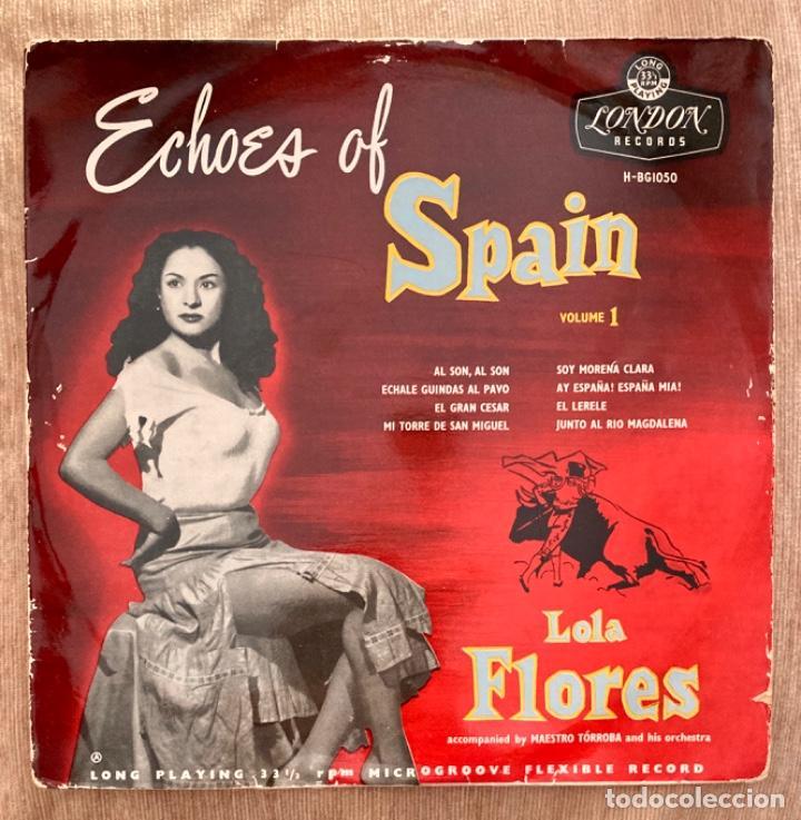 LOLA FLORES - LP 10 PULGADAS (Música - Discos - LP Vinilo - Flamenco, Canción española y Cuplé)