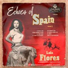 Discos de vinilo: LOLA FLORES - LP 10 PULGADAS. Lote 252221535
