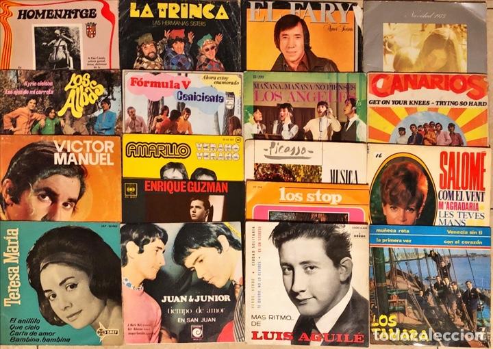 LOTE 18 SINGLES & E.P NACIONAL (Música - Discos de Vinilo - EPs - Grupos Españoles de los 70 y 80)