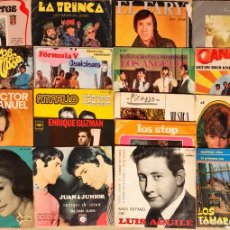 Discos de vinilo: LOTE 18 SINGLES & E.P NACIONAL. Lote 252239765