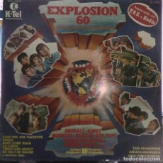 Discos de vinilo: EXPLOSION 60 - BEATLES - ANIMALS - KINKS - MONKEES - BYRDS - STATUS QUO - SMALL FACES - HOLLIES -ETC. Lote 222402790