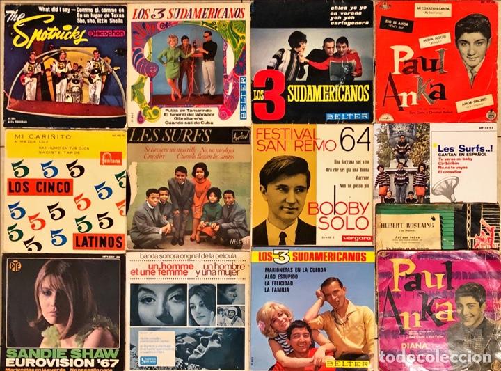 LOTE 13 EPS VARIADOS (Música - Discos de Vinilo - EPs - Pop - Rock Internacional de los 70)