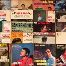 Discos de vinilo: LOTE 20 EP'S CANCIÓN FRANCESA ITALIANA. Lote 252244715