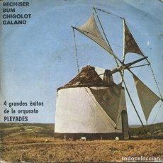 Discos de vinil: ORQUESTA PLEYADES / RECHISER / BUM + 2 (EP PROMO 1975). Lote 252252660