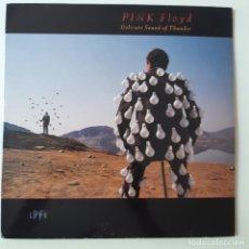 Disques de vinyle: PINK FLOYD- DELICATE SOUND OF THUNDER- SPAIN 2 LP 1988 + 2 ENCARTES.. Lote 252259945
