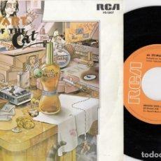 Discos de vinilo: AL STEWART - EL AÑO DEL GATO -YEAR OF THE CAT - SINGLE DE VINILO EDICION ESPAÑOLA. Lote 295460063