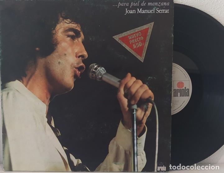 LP JOAN MANUEL SERRAT -... PARA PIEL DE MANZANA (Música - Discos - LP Vinilo - Solistas Españoles de los 70 a la actualidad)