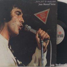 Discos de vinilo: LP JOAN MANUEL SERRAT -... PARA PIEL DE MANZANA. Lote 252281890