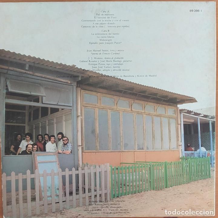 Discos de vinilo: LP JOAN MANUEL SERRAT -... PARA PIEL DE MANZANA - Foto 3 - 252281890