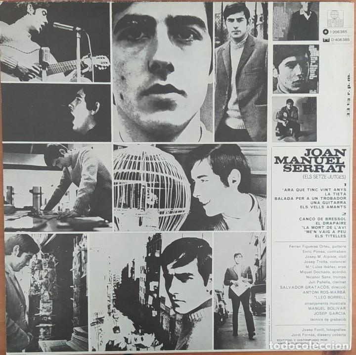 Discos de vinilo: LP JOAN MANUEL SERRAT- ARA QUE TINCS VINT ANYS - Foto 2 - 252284095