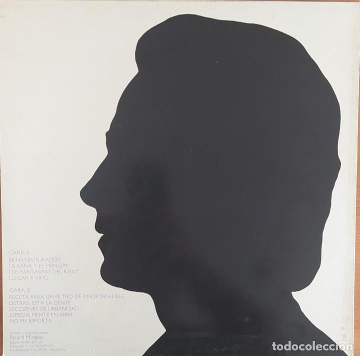 Discos de vinilo: LP JOAN MANUEL SERRAT - BIENAVENTURADOS - Foto 2 - 252286130