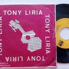 Discos de vinilo: TONY LIRIA - HELLO BRUNO +3 - EP FASE AUDIO Y VIDEO 1976. Lote 252286315
