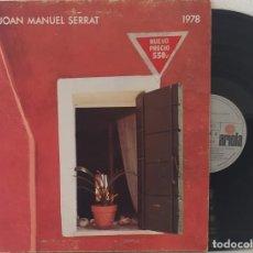 Discos de vinilo: LP JOAN MANUEL SERRAT - 1978. Lote 252287200