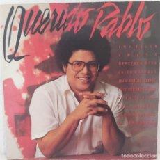 Discos de vinilo: DOBLE LP- PABLO MILANES - QUERIDO PABLO. Lote 252288650