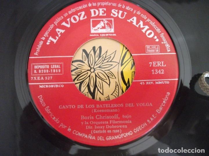 Discos de vinilo: LOTE 2 EPS DEL CORO COSACOS DEL DON + 1 SINGLE CANCIONES FOLKLORICAS RUSAS, VER FOTOS - Foto 5 - 252290255