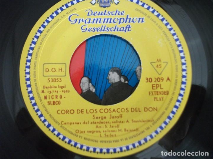 Discos de vinilo: LOTE 2 EPS DEL CORO COSACOS DEL DON + 1 SINGLE CANCIONES FOLKLORICAS RUSAS, VER FOTOS - Foto 13 - 252290255