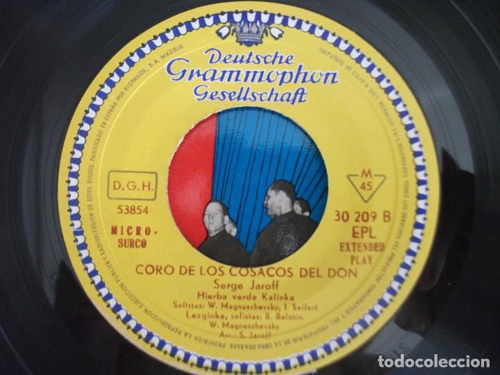 Discos de vinilo: LOTE 2 EPS DEL CORO COSACOS DEL DON + 1 SINGLE CANCIONES FOLKLORICAS RUSAS, VER FOTOS - Foto 14 - 252290255