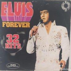 Discos de vinilo: DOBLE LP- ELVIS PRESLEY - ELVIS FOREVER 32 HITS. Lote 252290705