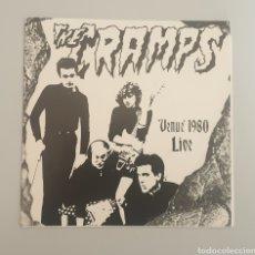 Discos de vinilo: EP THE CRAMPS - VENUE 1980 LIVE - 1ST PRESS 1980S - ULTRA RARE CRAMPS ITEM!!. Lote 252307015