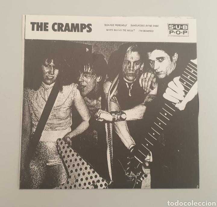 Discos de vinilo: EP THE CRAMPS - Teenage Werewolf/+3 - RARE CRAMPS ITEM!! - Foto 2 - 252310010