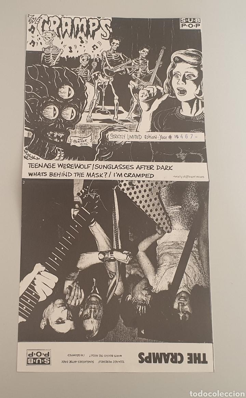 Discos de vinilo: EP THE CRAMPS - Teenage Werewolf/+3 - RARE CRAMPS ITEM!! - Foto 3 - 252310010
