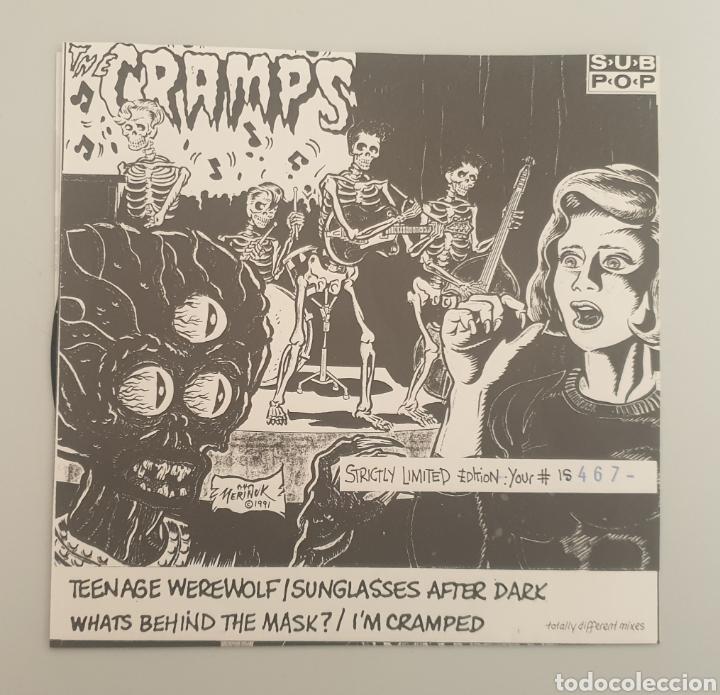 EP THE CRAMPS - TEENAGE WEREWOLF/+3 - RARE CRAMPS ITEM!! (Música - Discos de Vinilo - EPs - Pop - Rock - New Wave Internacional de los 80)