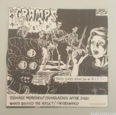Discos de vinilo: EP THE CRAMPS - TEENAGE WEREWOLF/+3 - RARE CRAMPS ITEM!!. Lote 252310010