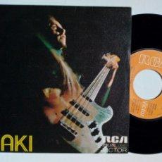 Discos de vinilo: SG: IÑAKI (EGAÑA) - TALE FOR TOM + HOSTAL SAN QUINTIN (RCA, 1974) - ROCK PROGRESIVO - DE SU LP KARMA. Lote 252340420