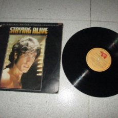 Disques de vinyle: STAYING ALIVE - BSO - MEXICO - RSO - REF 813 269-1 - L -. Lote 252356035