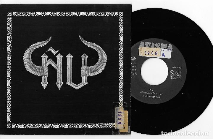 "ÑU 7"" SPAIN 45 TUBOSCAPE + CONJUROS 1990 SINGLE VINILO HARD ROCK HEAVY JOSE CARLOS MOLINA AVISPA REC (Música - Discos - Singles Vinilo - Heavy - Metal)"