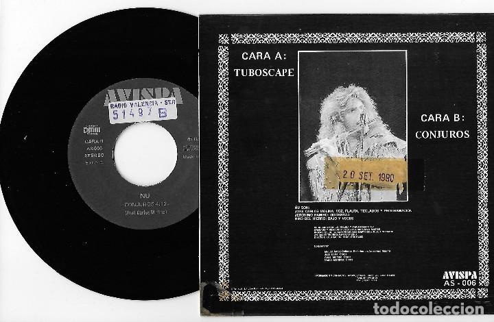 "Discos de vinilo: ÑU 7"" SPAIN 45 TUBOSCAPE + CONJUROS 1990 SINGLE VINILO HARD ROCK HEAVY JOSE CARLOS MOLINA AVISPA REC - Foto 2 - 252358575"