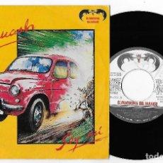 """Discos de vinilo: SQUASH 7"""" SPAIN 45 SOY ASI + MIEDO 1984 SINGLE VINILO POP ROCK PROMOCIONAL EL FANTASMA DEL PARAISO. Lote 252367005"""