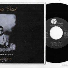 """Discos de vinilo: SOPORTE VITAL 7"""" SPAIN 45 EL HOMBRE BOBO 1986 SINGLE VINILO POP ROCK PROMO PRENSA DISCOS MEDICINALES. Lote 252367950"""