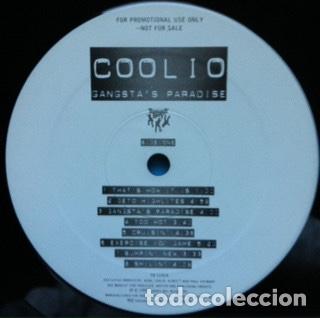 Discos de vinilo: Coolio – Gangstas Paradise USA PROMO NM - Foto 3 - 252372110