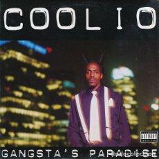 Discos de vinilo: COOLIO – GANGSTA'S PARADISE USA PROMO NM. Lote 252372110