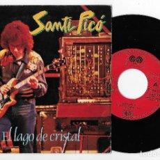 """Discos de vinilo: SANTI PICO 7"""" SPAIN 45 EL LAGO DE CRISTAL + LA NUBE PURPURA 1981 SINGLE VINILO JAZZ FUSION PROG ROCK. Lote 252372580"""