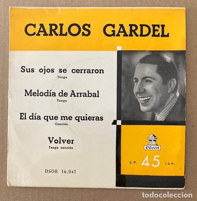 CARLOS GARDEL (Música - Discos de Vinilo - EPs - Grupos y Solistas de latinoamérica)