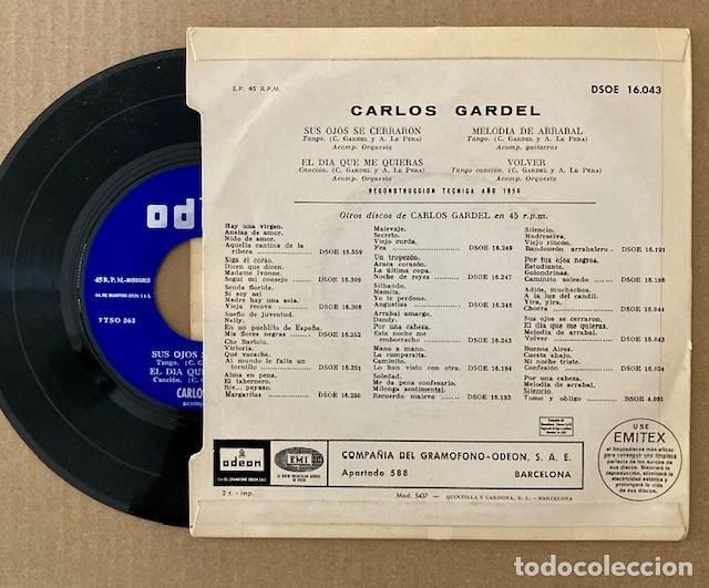 Discos de vinilo: CARLOS GARDEL - Foto 2 - 252373375