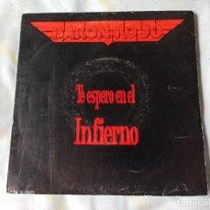 """Discos de vinilo: BARÓN ROJO – TE ESPERO EN EL INFIERNO SINGLE EN VINILO DE 7"""" AÑO 1992. Lote 252383765"""