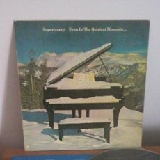 Discos de vinilo: SUPERTRAMP - EVEN IN THE QUIETEST MOMENTS - LP - 1977. Lote 252401305