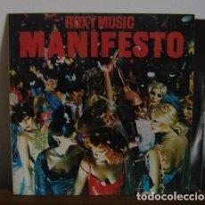 Discos de vinilo: ROXY MUSIC - MANIFESTO - LP - 1979. Lote 252403205