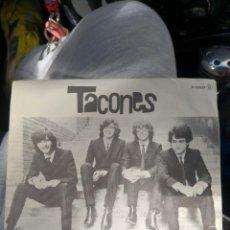 Discos de vinilo: DISCO TACONES- CRONICAS DEL BROMURO. SINGLE CHAPA DISCOS. Lote 252433805