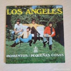 Discos de vinilo: LOS ANGELES - MOMENTOS / PEQUEÑAS COSAS - FANTASTICO SINGLE HISPAVOX 1969 IMPECABLE ESTADO. Lote 252435975