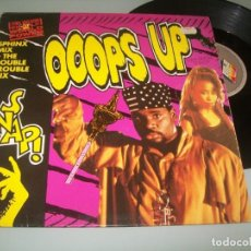 Discos de vinilo: SNAP - OOOPS UP (SPHINX MIX ) ... MAXISINGLE ESPAÑOL DE 1990. Lote 252474295
