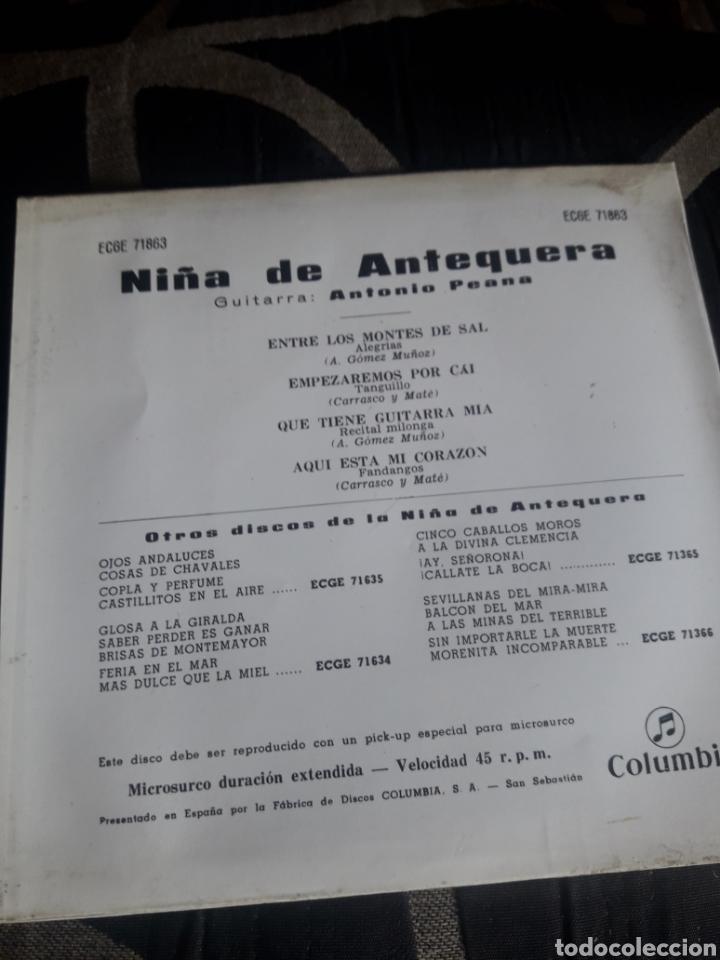 Discos de vinilo: Antiguo vinilo, Niña de Antequera, a estrenar - Foto 3 - 252482930