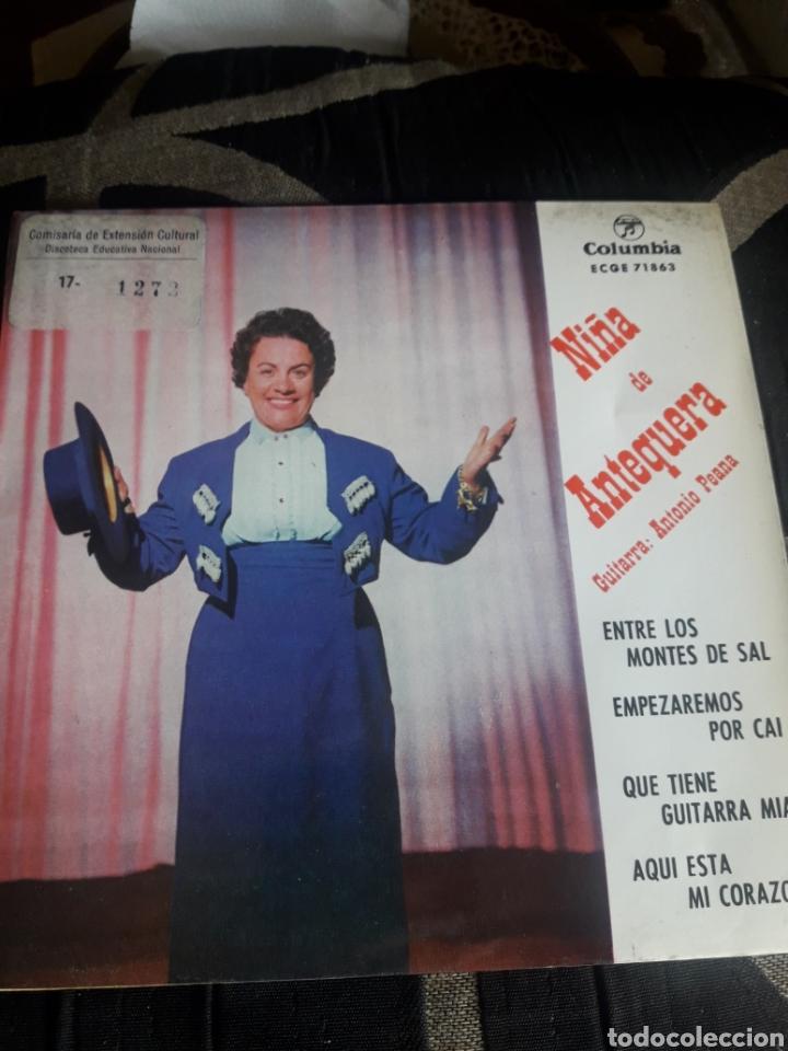 ANTIGUO VINILO, NIÑA DE ANTEQUERA, A ESTRENAR (Música - Discos de Vinilo - Maxi Singles - Flamenco, Canción española y Cuplé)
