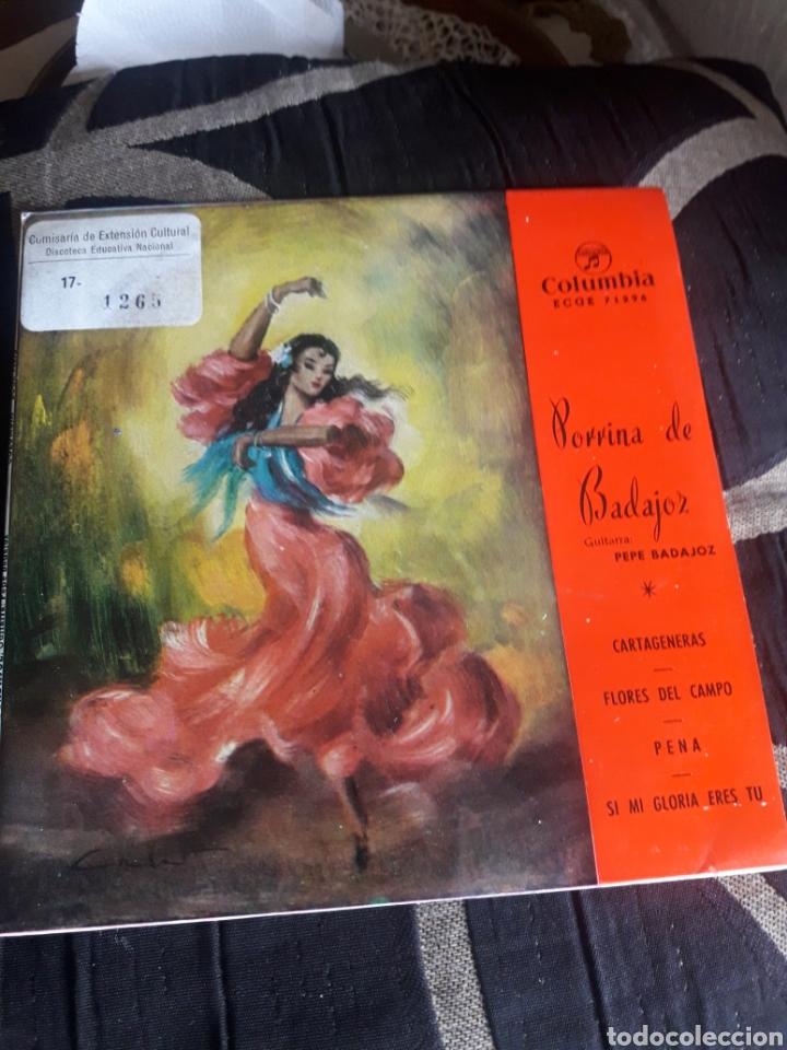ANTIGUO VINILO, PORRINA DE BADAJOZ A ESTRENAR (Música - Discos de Vinilo - Maxi Singles - Flamenco, Canción española y Cuplé)
