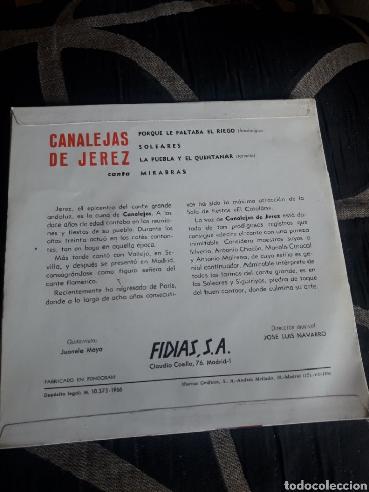 Discos de vinilo: Antiguo vinilo, Canalejas de Jerez, a estrenar - Foto 2 - 252485200