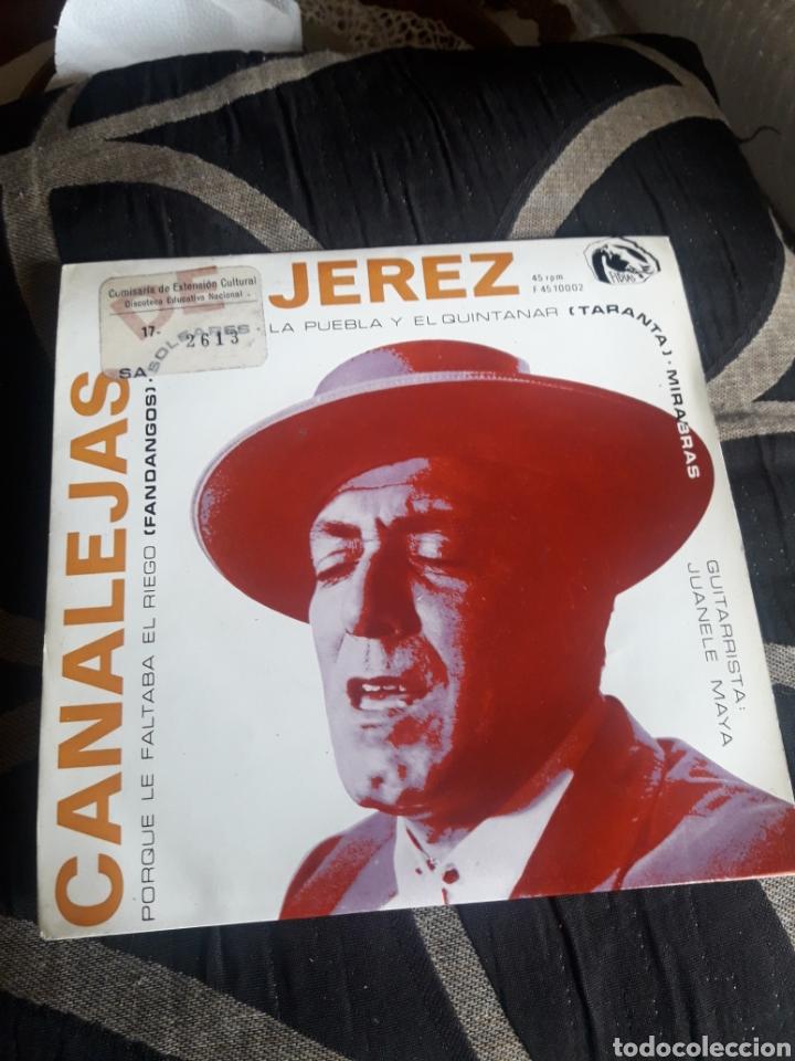 ANTIGUO VINILO, CANALEJAS DE JEREZ, A ESTRENAR (Música - Discos de Vinilo - Maxi Singles - Flamenco, Canción española y Cuplé)